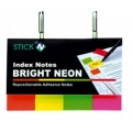 Stick index hartie color 50 x 20 mm, 4 x 50 file/set